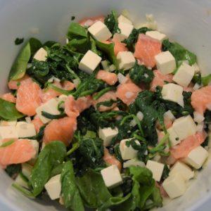 Spinat- og laksetærte Ikke kategoriseret